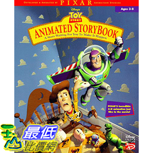[106美國暢銷兒童軟體] Toy Story Animated Storybook - PC/Mac