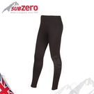 【Sub Zero 英國 女款 Factor1+ 排汗長褲《黑》】Factor 1 PLUS/內搭褲/薄長褲/防曬