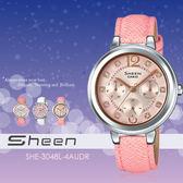 Sheen 個性甜美手錶 34mm/SHE-3048L-4A/晶鑽/SHE-3048L-4AUDR