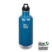klean kanteen Classic Vacuum 經典44mm 窄口保溫瓶945ml『湖泊藍』K32VCPPL 水壺│不鏽鋼水壺