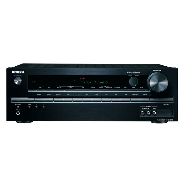 ONKYO TX-SR333 5.1聲道 4K 3D家庭劇院綜合擴大機 藍芽/3D/4K HDMI輸入/2區域音訊輸出