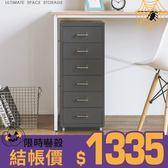 工業風 收納車 IKEA同款【S0056】偉茲六層抽屜公文櫃(四色) 完美主義