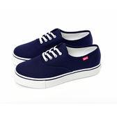 TOP GIRL  繽紛輕柔厚底帆布鞋-丈青藍