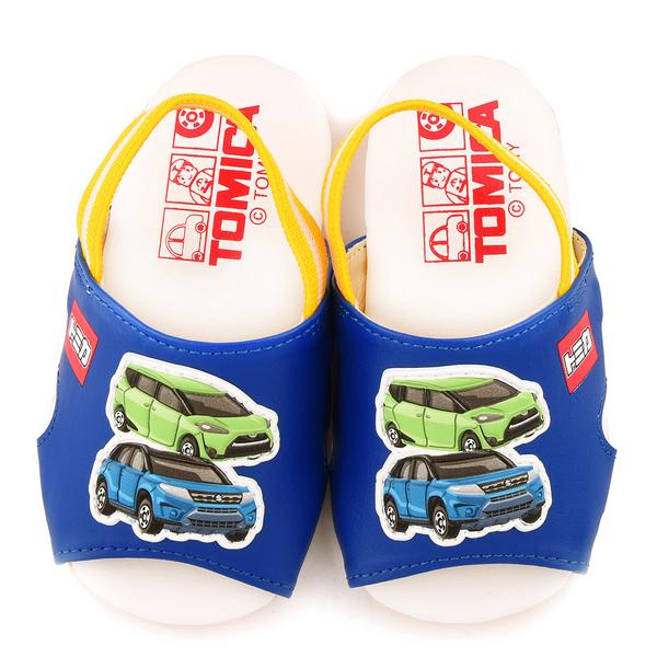 童鞋城堡-Tomica多美小汽車 小童後帶鞋TM1811-藍
