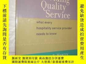 二手書博民逛書店Providing罕見Quality Service: What