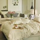床包被套組 / 雙人特大-獨家布蕾絲【歐姆布蕾】含兩件枕套,100%精梳棉,在巴黎遇見,戀家小舖