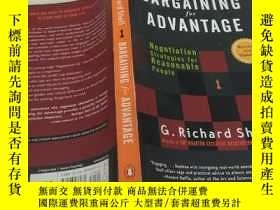 二手書博民逛書店BARGAINING罕見for ADVANNTAGE 書名以圖片