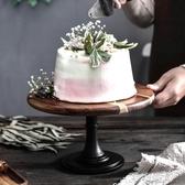 蛋糕木盤裱花擺臺裱花臺做蛋糕臺材料的工具家用生日烘焙展示擺件 布衣潮人YJT