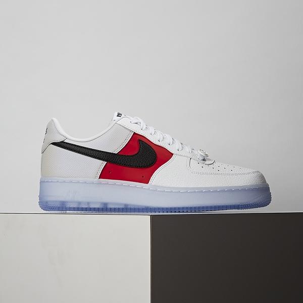 Nike Air Force 1 07 LV8 EMB 男鞋 黑白紅 經典 簡約 休閒鞋 CT2295-110