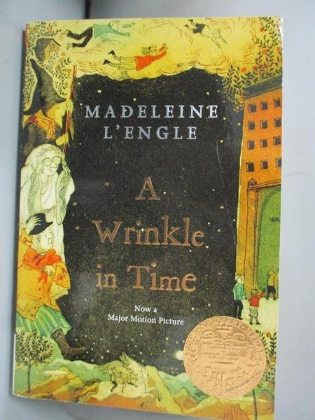 【書寶二手書T1/原文小說_NPB】A Wrinkle in Time_L'Engle