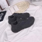 椰子鞋韓版街拍反光椰子700黑武士運動鞋休閒小黑鞋輕便健身跑步鞋男女 非凡小鋪