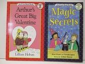【書寶二手書T1/語言學習_DYL】An I Can Read Book-Magic Secrets_Arthur s Great..._2本合售