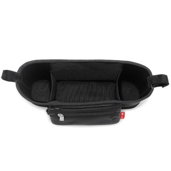 SKIP * HOP 手推車整理袋-黑、雪佛龍灰色