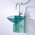 【麗室衛浴】歐化盆系列  玻璃歐化盆組CB-17