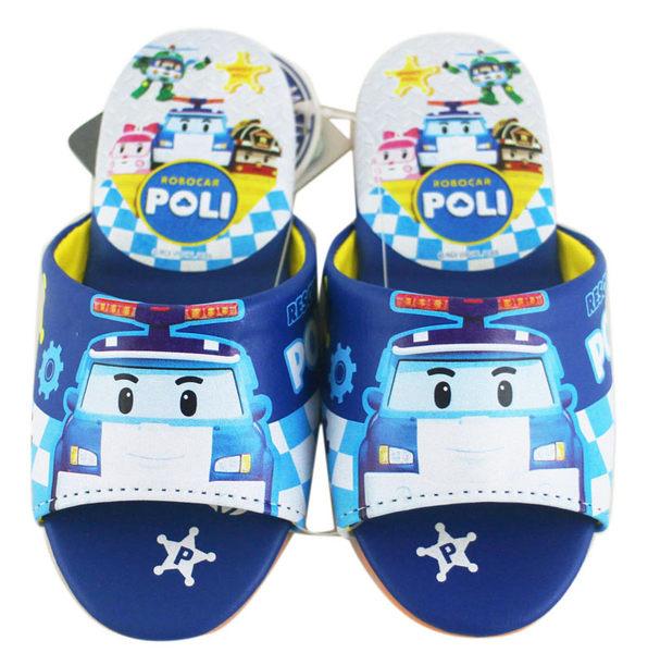【卡漫城】 POLI 室內拖鞋 20cm ㊣版 警車 救護車 消防車 波力 救援小英雄 打火小英雄 兒童 台灣製
