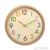 家用個性鐘錶時鐘掛鐘客廳時尚現代簡約靜音大氣北歐錶創意潮流鐘   瑪奇哈朵
