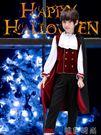 萬聖節服裝 萬聖節兒童服裝cos吸血鬼伯爵角色扮演恐怖男孩套裝僵尸鬼的衣服 唯伊時尚