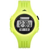 adidas 勁戰狙擊大面板電子腕錶-綠/小