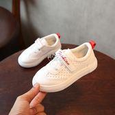兒童板鞋童鞋韓版女童休閒鞋子中大童學生小白鞋男童運動鞋 俏腳丫