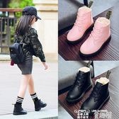 小皮鞋 童鞋女童皮鞋冬季小女孩鞋子秋冬加絨棉鞋軟底兒童公主鞋 童趣屋