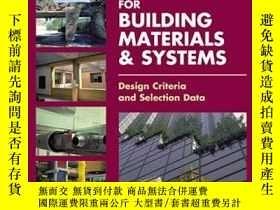 二手書博民逛書店Time-saver罕見Standards For Building Materials & SystemsY