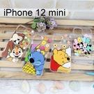 迪士尼空壓軟殼 iPhone 12 mini (5.4吋)【Disney正版】米奇米妮 史迪奇 小熊維尼 奇奇蒂蒂