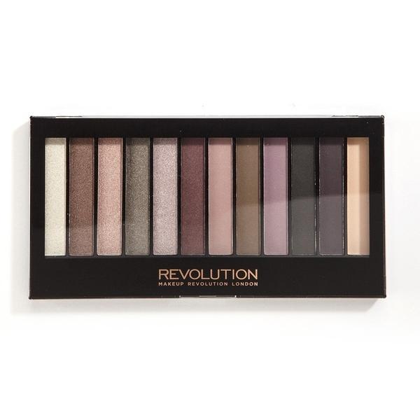 英國 Makeup Revolution Romantic Smoked 眼影盤