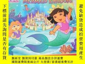 二手書博民逛書店dora罕見saves mermaid kingdom!Y212