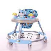 學步車 嬰兒學步車多功能防側翻可折疊手推可坐男寶寶女孩學行車6-18個月jy 最後一天全館八折