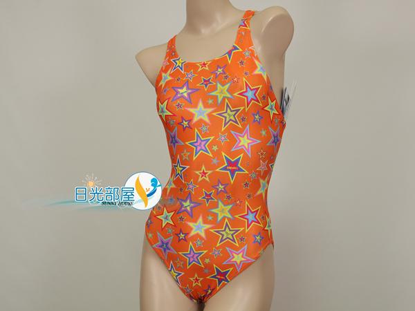 *日光部屋* TORNADO (公司貨)/RL-633-ORG 競泳款/耐穿/連身三角泳裝(韓國知名品牌)
