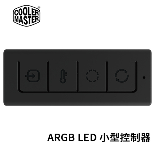 Cooler Master 酷媽 可程式化 ARGB LED 小型控制器 MFX-ACBN-NNUNN-R1