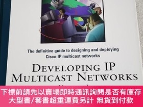 二手書博民逛書店DEVELOPING罕見IP MULTICAST NETWORKS VOLUME IY7987 Beau Wi