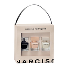 【Narciso Rodriguez】同名禮盒 30ml*3 (同名淡香水/裸時尚粉淡香精/同名淡香精)