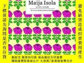二手書博民逛書店Maija罕見Isola Art, Fabric, Marime