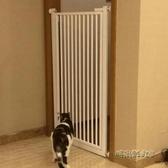 可定制90寬內110高免打孔易拆裝寵物貓狗門欄圍欄隔離門柵欄樓梯MBS「時尚彩紅屋」