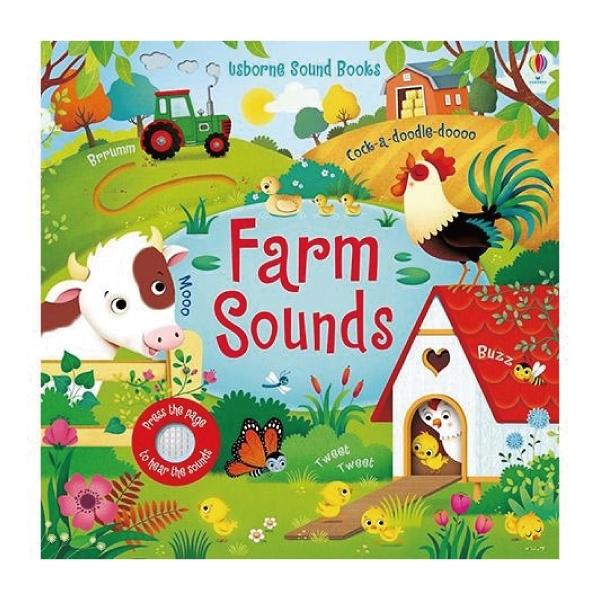 Farm Sounds 熱鬧農場-觸摸有聲書