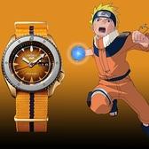 SEIKO 5 火影忍者聯名腕錶-鳴人(SRPF70K1)【送帆布錶帶及原廠好禮】