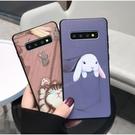 貓咪兔子手機殼套 三星 A42 A21S A51 A71 Note20 10+ A70 A50 S10+Note9 8 卡通套