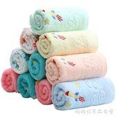 兒童毛巾純棉 6條裝 加厚柔軟吸水童巾 家用寶寶洗臉巾小面巾 糖糖日系森女屋