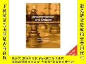 二手書博民逛書店Argumentation罕見And Debate, International Edition-辯論與辯論,國際
