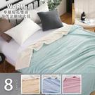 特大尺寸 經典豐盈麥穗緹花雙面羊羔法蘭絨大毯 (180x200cm) 8色任選