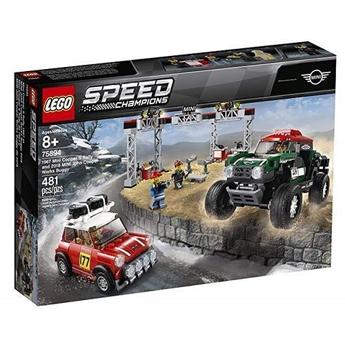 LEGO 樂高 75894 Mini Cooper S Rally & Works Buggy