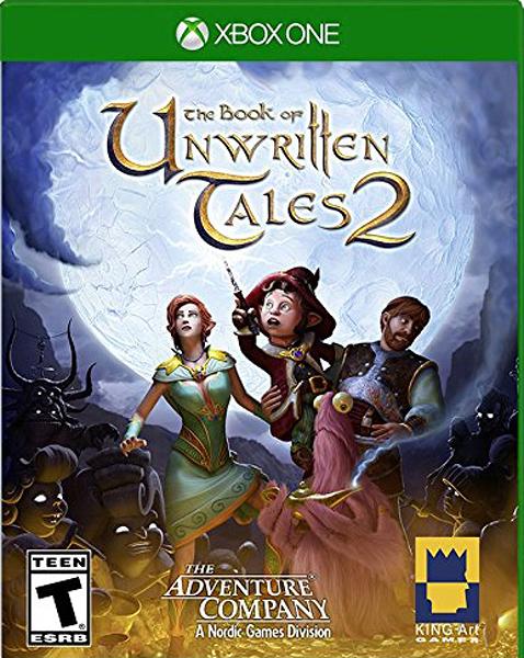 X1 The Book of Unwritten Tales 2 未傳之書 2(美版代購)