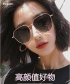 偏光太陽鏡女防紫外線大臉顯瘦圓臉墨鏡新款潮女ins 優尚良品