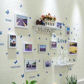 相框創意掛牆現代照片牆裝飾5 7寸畫框像框裝裱擺台相筐組合【聖誕節提前購