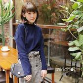 東京著衣-百搭口袋落肩長袖上衣(6028240)