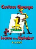 『鬆聽出英語力--第47週』- CURIOUS GEORGE LEARNS ALPHABET/書+CD