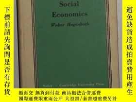 二手書博民逛書店英文原版罕見Social Economics by Walter