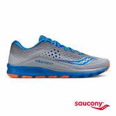 SAUCONY KINVARA 8 專業訓練鞋款-灰X藍X橘