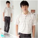 【大盤大】(P33671) 男 零碼M號 口袋 短袖休閒衫 薄款POLO衫 透氣 熱賣 運動 高質感 老公爸爸